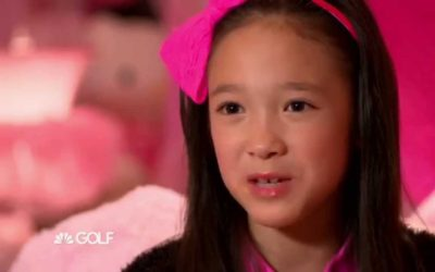 Victoria Matthew NBC Golf Channel Commercial Drive Chip Putt National Finals Augusta