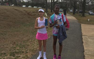 Victoria wins LeMair Tennis Open Girls singles 12u – Feb 18, 2017