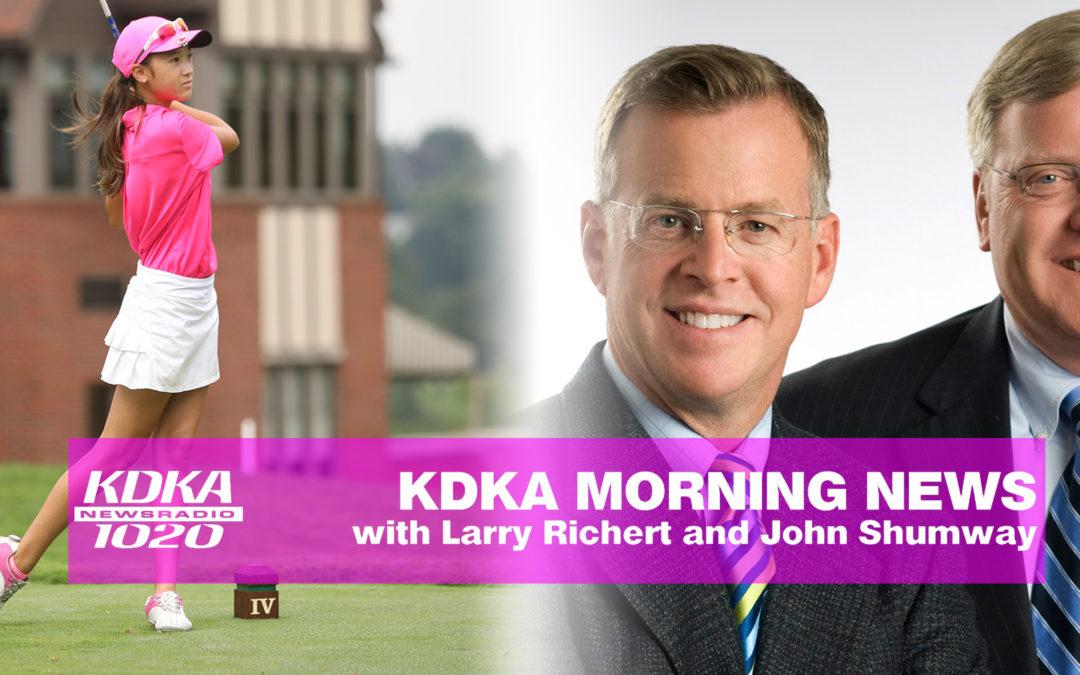 Victoria featured on the Larry Richert and John Shumway Show – CBS KDKA Radio