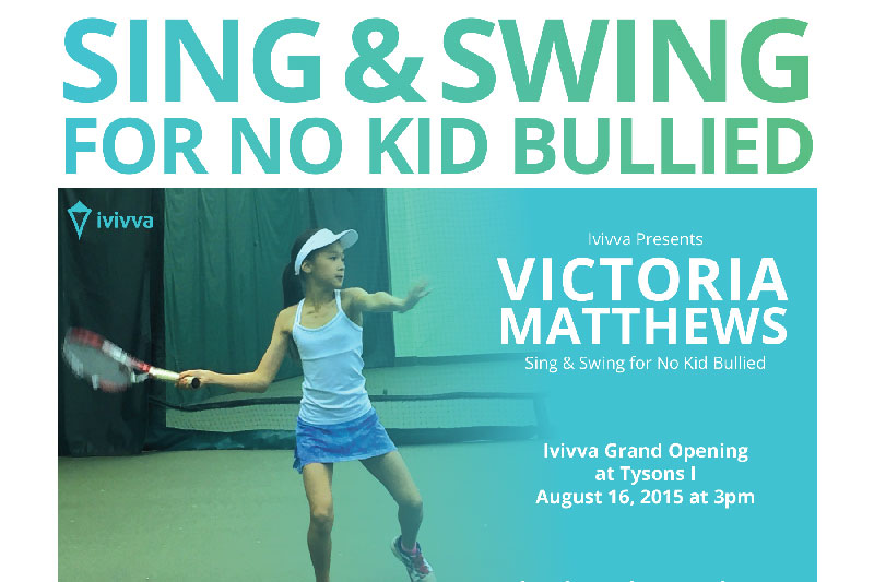 Victoria Matthews Named Lululemon Ivivva Ambassador: USTA CitiOpen Stars of Tomorrow Junior Challenger.