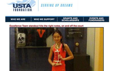 USTA profile article on Victoria