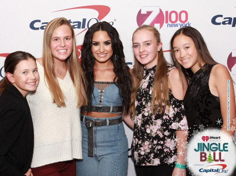 Victoria with Demi Lovato
