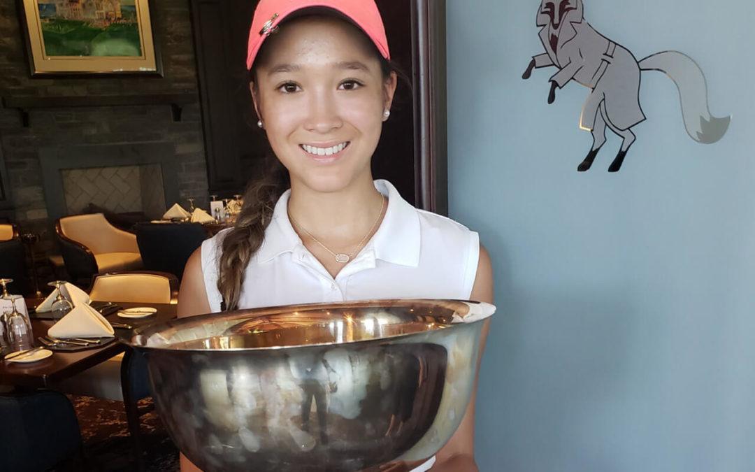 Victoria Matthews 2019 River Bend Golf & Country Club Women's Club Champion